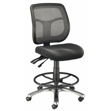 Mesh Back Argentum Drafting Chair