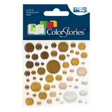 Colorstories Epoxy Color Spots Stickers (Set of 200)