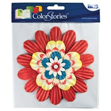 ColorStories Stacked Flowers (Set of 15)