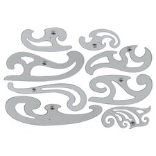 French Curve (Set of 8)