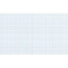 Quadrille Paper Grid Pad (Set of 100)