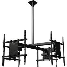 """Tilt Universal Ceiling Mount for 37"""" - 65"""" Screens"""