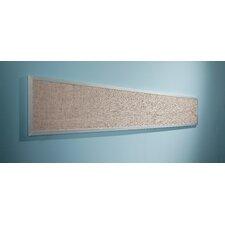 Tackboard Display Gray Vinyl Panel Wall Mounted Bulletin Board