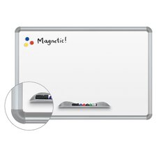Green-Rite Presidential Frame Magnetic Wall Mounted Whiteboard