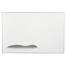 Ultra Trim Wall Mounted Magnetic Whiteboard, 4' x 8'