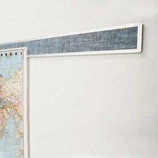 Vinyl Covered Display Rails - Aluminum Frame