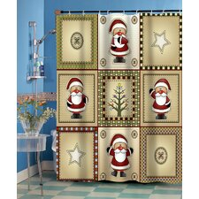 Americana Holiday Shower Curtain