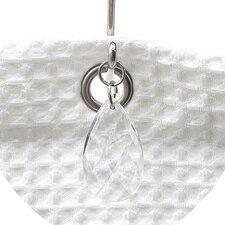 Prism Shower Curtain Hooks (Set of 12)