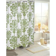 Ez On PEVA Beacon Hill Shower Curtain