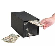 Horizontal Mount Front Loading Key Lock Commercial Depository Safe