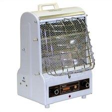 1,250 Watt Portable Electric Radiant Cabinet Heater