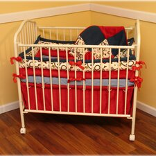 Giddy Up 4 Piece Crib Bedding Set