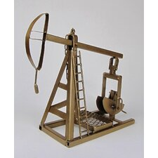 Decorative Oil Pump Jack Table Sculpture