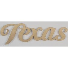 """TEXAS"" Wall Décor"