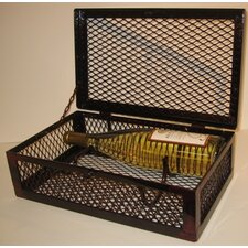 Industrial Evolution 2 Bottle Tabletop Wine Box