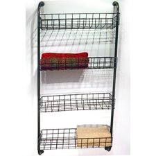 "Metro 25"" W x 61"" Bathroom Shelf"