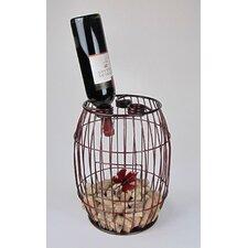 Industrial Evolution 3 Bottle Tabletop Wine Rack