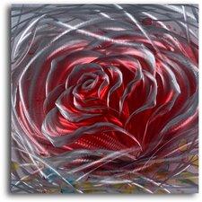 'Iron Rose' Original Painting Plaque