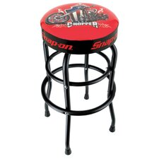 "29.25"" Swivel Bar Stool with Cushion"