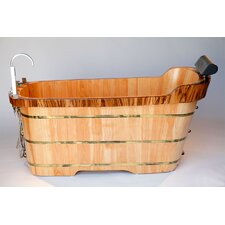"59"" x 27"" Soaking Bathtub"