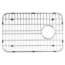 Large Solid Stainless Steel Kitchen Sink Grid