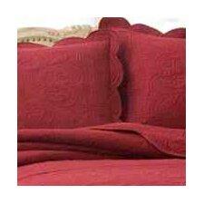 French Tile Cotton Throw Pillow