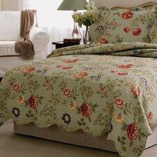 Edens Garden Twin Quilt Set