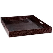 Crocodile Embossed Tray