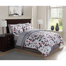 Modern Branch 7 Piece Comforter Set