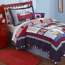 Fireman Quilt Collection (Set of 2)