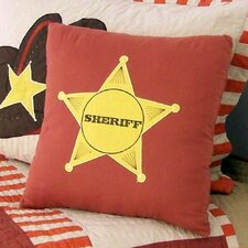 Cowboys Cotton Throw Pillow