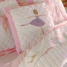 Ballet Lessons Cotton Throw Pillow