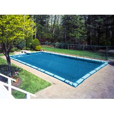 Super In-Ground Winter Swimming Pool Cover with Water Tube Kit