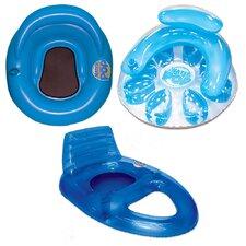 3 Piece Water Pop Pool Lounger Set