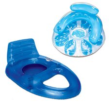 2 Piece Water Pop Circular Deluxe Pool Lounger Set
