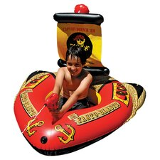Pirate Ship with Action Squirter Pool Toy
