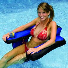 Covered U-Seat Inflatable Pool Lounger