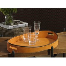 Equestrian Oval Serving Tray