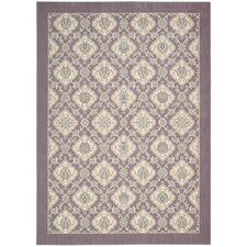 Hinsdale Violet Abstract Area Rug