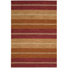 Oxford Rust Sunset Beach Area Rug