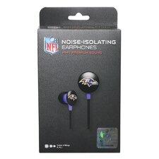 NFL Logo Earbuds