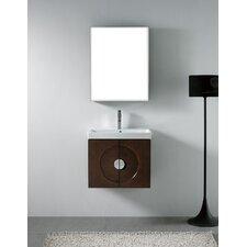 """Genova 23.63"""" Wall Mount Bathroom Vanity Base"""