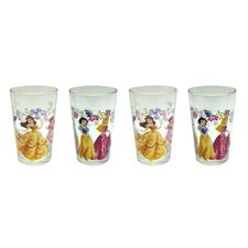 Disney 4 Piece 8 oz. New Princesses Juice Glass Set