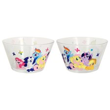 Hasbro My Little Pony Group Ponies Glass Bowl (Set of 6)