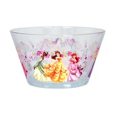 Disney Group Princess 22 oz. Glass Bowl (Set of 6)