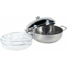 4 qt. Stainless Steel 4 Piece Cook Pan Set