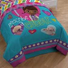 Doc Mcstuffins Caring Twin Comforter