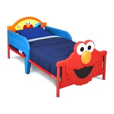 Sesame Street 3D Plastic Toddler Bed