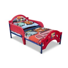 Pixar Cars Plastic Toddler Bed