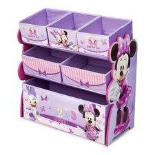 Minnie Mouse Multi Bin Toy Organizer